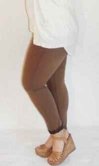 Hellbraune Slimfit-Jeans kombinieren: 'Slim Jeans' (Damen, Jeans, braun, Bilder) | Style my Fashion