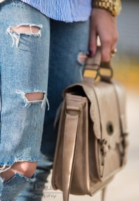 Pearls, pumps and denim