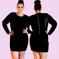 Schwarzes klassisches Kleid kombinieren: 'kleines Schwarzes' (Damen, Kleid, schwarz, Bilder) | Style my Fashion