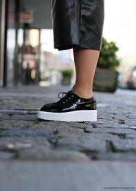 Schwarze Sneakers kombinieren: 'Black Platform Shoes' (Damen, Schuhe, schwarz, Bilder) | Style my Fashion