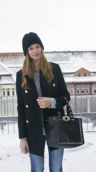 black beanie | on the roof | Style my Fashion