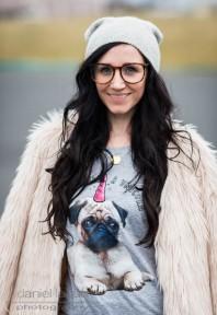 Fake fur and pugs