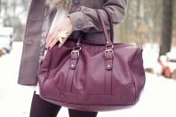 weinrote Tasche | Diva | Style my Fashion