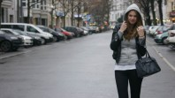 Grey Hoodie | leather x rubbe... | Style my Fashion