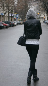 Lederjacke   leather x rubbe...   Style my Fashion