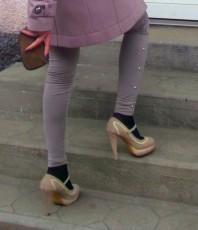 Plateauschuhe mit Gurt   trench coat   Style my Fashion