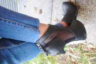 Cut Out High Heels
