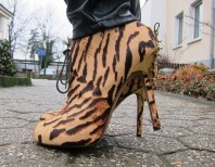 Tan Tiger Booties Sam Edelman  | Safari Colors | Style my Fashion