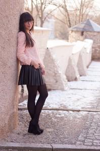 Lederrock | roses | Style my Fashion