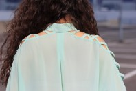cut out bluse