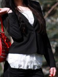 """schwarzer Blazer   von """"Blair Wald...   Style my Fashion"""