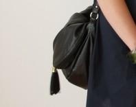 schwarze Tasche | Blümchensommer | Style my Fashion