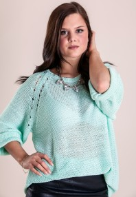 LOVELEY MINT SWEATER
