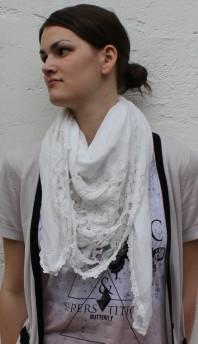 weißes Dreieckstuch | Mystic Butterfl... | Style my Fashion