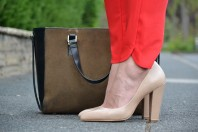 Beige Mango Pumps | Lady In Red | Style my Fashion