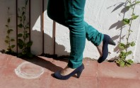 blaue pumps | Sun and Stripes | Style my Fashion