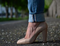 Beige Mango Pumps | I love My Boyfr... | Style my Fashion