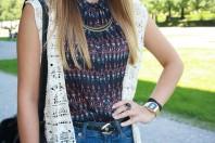 ärmellose Bluse | Eine runde Sonn... | Style my Fashion