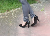 Schwarze Lack Schuhe | Transparente Bl... | Style my Fashion
