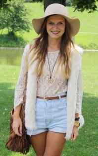 Spitzenshirt | Blumenkind | Style my Fashion