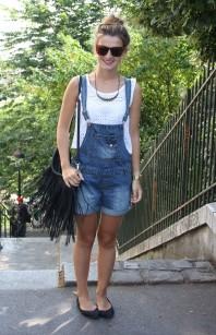 Fransentasche | Mit Latzhosen d... | Style my Fashion
