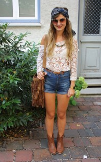 Cowboystiefel | Ein Blumenkind | Style my Fashion