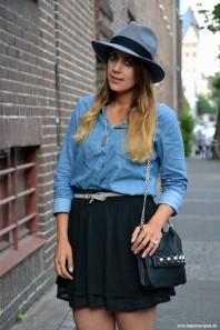 H&M Filz Hut | Denim Love | Style my Fashion