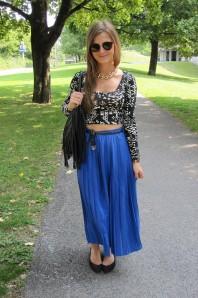 Oberteil | Royalblue | Style my Fashion