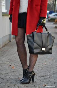 Nieten Handschuhe   Dots on my legs   Style my Fashion