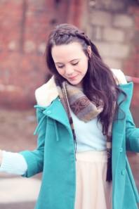 The turquoise jacket