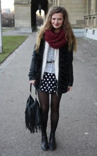 Felljacke   Punkt Punkt Pun...   Style my Fashion