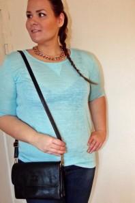 tükises Leinenshirt | Plus Size Freiz... | Style my Fashion