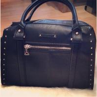 Shopper mit Nieten | Back to Black | Style my Fashion