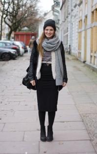 Schal | Midiskirt | Style my Fashion