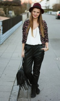 Jacke   (Fake)Lederhose...   Style my Fashion