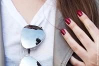 silberverspiegelte Sonnenbrille | Boyfriend Meets... | Style my Fashion