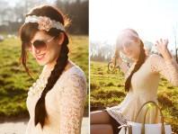 Beige/hellbraunes Stirnband kombinieren: 'Haarband' (Damen, Hut / Mütze, braun, gelb, Bilder) | Style my Fashion