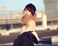 graubeiges weites tuch | kuschelwarm. | Style my Fashion