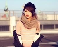 leichte lachsfarbene bluse | kuschelwarm. | Style my Fashion