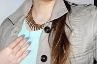 Helltürkiser Strickpullover kombinieren: 'türkiser Wollpulli' (Damen, Pullover / Sweater, blaugrün, blau, grün, Bilder) | Style my Fashion