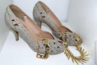 Beige Pumps kombinieren: 'Pumps' (Damen, Schuhe, braun, gelb, Bilder) | Style my Fashion