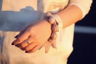weiße uhr doppelgewickelt | sorgenfrei. | Style my Fashion