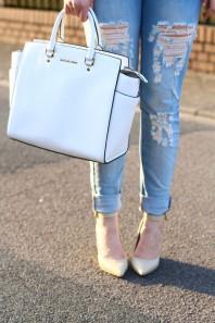 Weiße Businesstasche kombinieren: 'Selma Bag' (Damen, Tasche, weiß, Bilder) | Style my Fashion