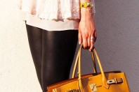 Gelbe Uhr kombinieren: 'Hermes Paris Medor' (Damen, Uhr, gelb, Bilder) | Style my Fashion
