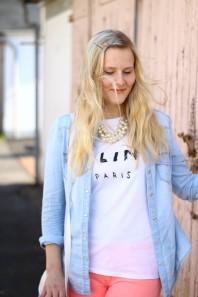 Weißes T-Shirt kombinieren: 'Céline Shirt' (Damen, Shirt, weiß, Bilder) | Style my Fashion