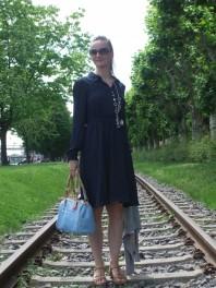 Sommertrend 2014: Blaues Mint & Berry Hemdenblusenkleid