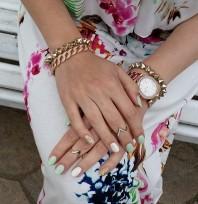 Goldener Ring kombinieren: 'Knuckleringe (Spitze) von H&M' (Damen, Schmuck, braun, gelb, Bilder) | Style my Fashion