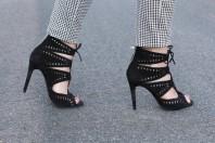 Schwarze Sandalen kombinieren: 'Zara Heels' (Damen, Schuhe, schwarz, Bilder)   Style my Fashion