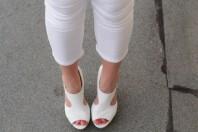 Weiße Sandalen kombinieren: 'Wedges von Buffalo' (Damen, Schuhe, weiß, Bilder) | Style my Fashion