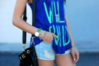 ripped Demin Shorts | Wild Child | Style my Fashion